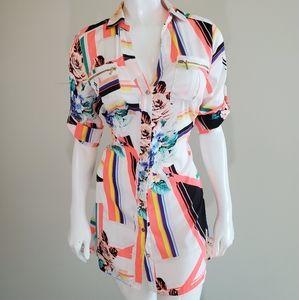 Bebe shirt dress